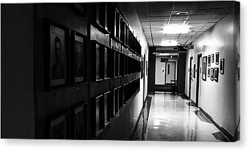 Hall Of Memories Canvas Print by Brian Sereda