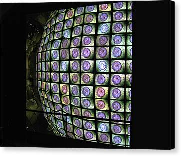 Canvas Print featuring the photograph Hall Of Mirrors Kaleidoscope by Menega Sabidussi