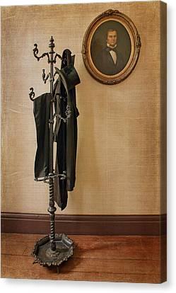 Indoor Still Life Canvas Print - Hall Tree - Still Life by Nikolyn McDonald