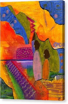 Hallelujah Praise Canvas Print
