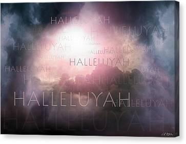 Halleluyah Canvas Print by Bill Stephens