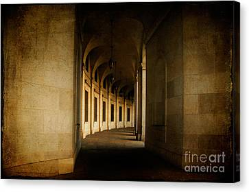 Hallowed Hall Canvas Print by Lois Bryan