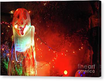 Canvas Print featuring the photograph Halloween by Bill Thomson