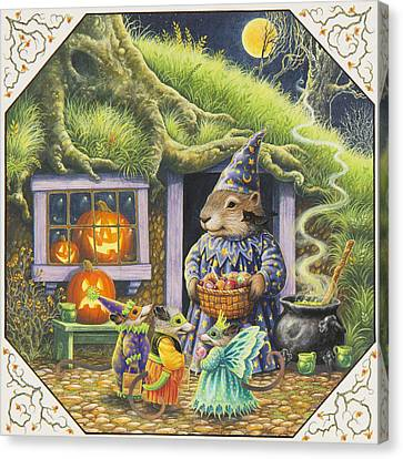 Halloween Costumes Canvas Print by Lynn Bywaters