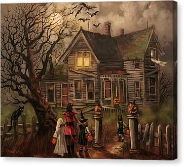 Halloween Dare Canvas Print