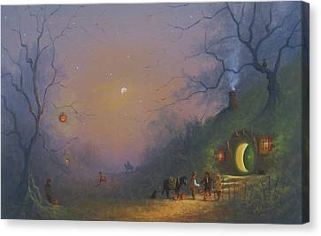 A Shire Halloween  Canvas Print