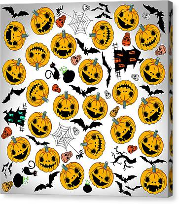 Coos Canvas Print - Halloween Party  by Mark Ashkenazi