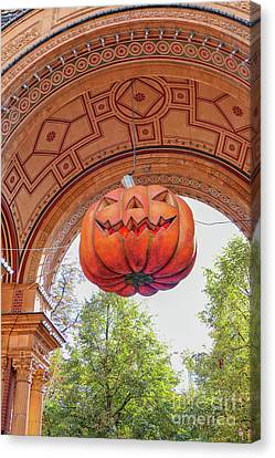 Canvas Print - Halloween Pumpkin by Patricia Hofmeester