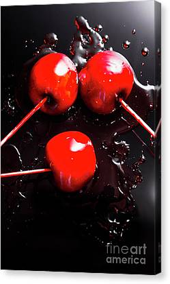 Halloween Toffee Apples Canvas Print by Jorgo Photography - Wall Art Gallery