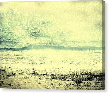 Hallucination On A Beach Canvas Print