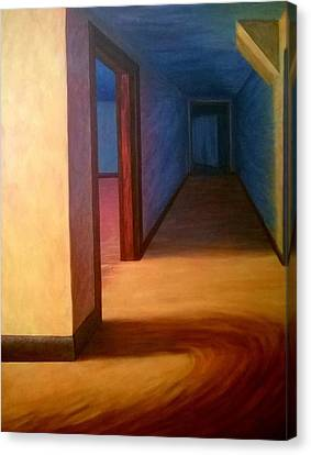 Hallway Canvas Print by Joann Renner