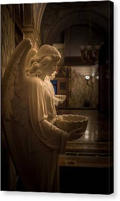Hallway Of Angels Canvas Print by Carlos Ruiz