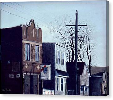 Halsted Canvas Print