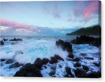 Hamakua Sunset Canvas Print by Ryan Manuel