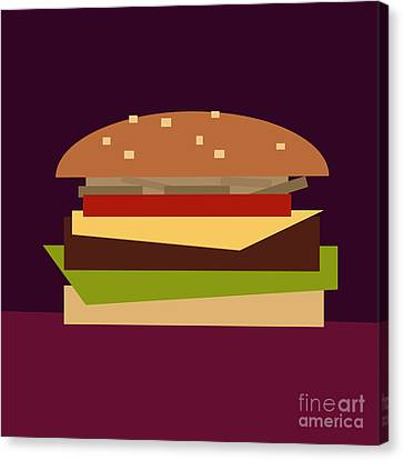 Hamburger Canvas Print - Hamburger by Igor Kislev