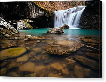 Hamilton Falls Canvas Print by Kurt Jones