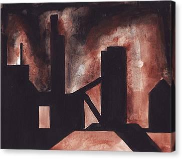 Hamilton Ontario Industrial Canvas Print