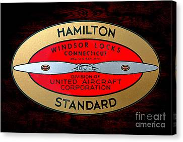 Hamilton Standard Windsor Locks Canvas Print by Olivier Le Queinec