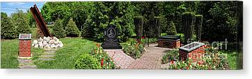 Hamilton Township New Jersey Heroes Memorial Canvas Print by Olivier Le Queinec