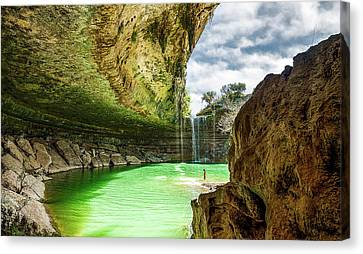 Hamiltons Pool Canvas Print