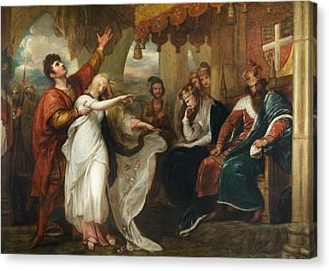 Hamlet- Act Iv, Scene V  Canvas Print