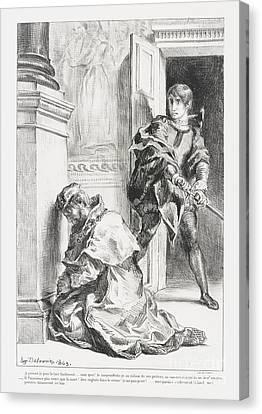 Hamlet Tente De Tuer  Canvas Print