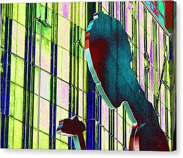 Hammering Man 3 Canvas Print by Tim Allen