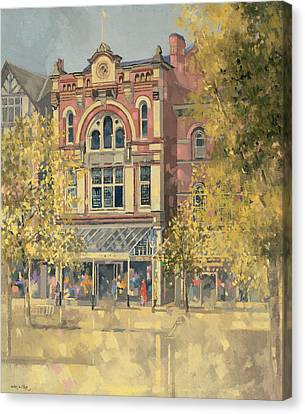 Architectural Art Canvas Print - Hammick's Bookshop by Peter Miller