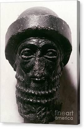 Hammurabi (d. 1750 B.c.) Canvas Print by Granger
