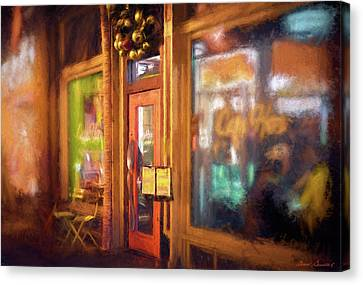 Hampden Cafe Canvas Print