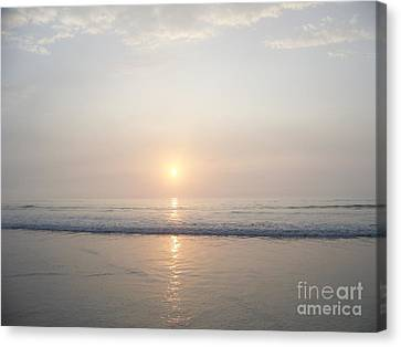 Hampton Beach Sunrise Canvas Print