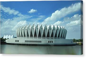 Hampton Coliseum - Virginia Canvas Print