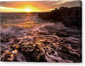 Hana Bay #2 Canvas Print by Francesco Emanuele Carucci