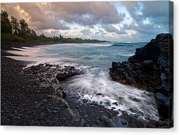 Maui - Hana Bay Canvas Print by Francesco Emanuele Carucci