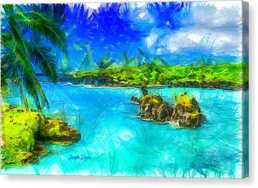 Hana Maui - Da Canvas Print