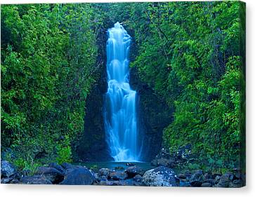 Hana Waterfall Canvas Print