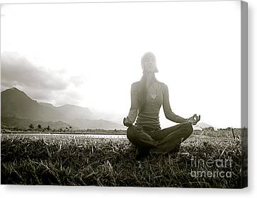 Hanalei Meditation Canvas Print by Kicka Witte - Printscapes