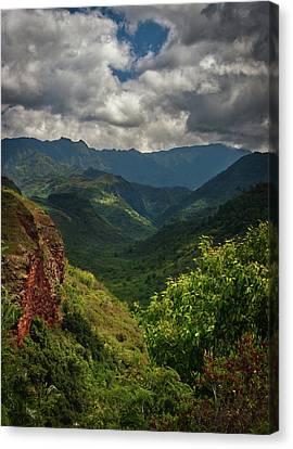 Hanapepe Canyon Canvas Print