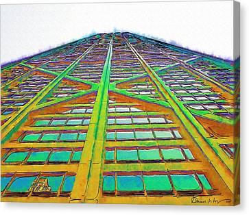 Hancock Chicago Canvas Print