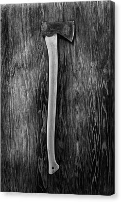 Hand Forged Axe II Canvas Print by YoPedro