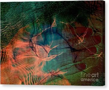 Hand Of A Healer - La Main Dun Guerisseur Canvas Print by Fania Simon