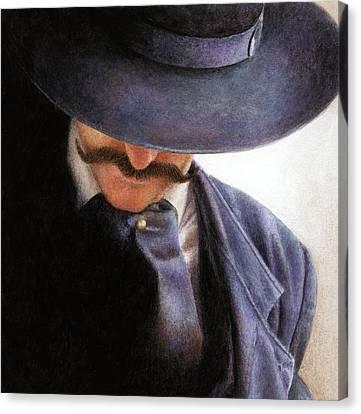Handlebar Canvas Print by Pat Erickson