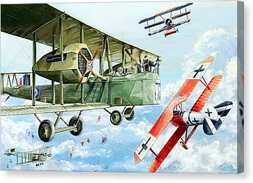 Handley Page 400 Canvas Print by Charles Taylor