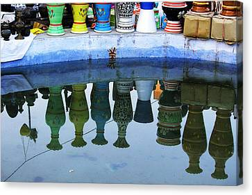 Handmade Clay Pots Canvas Print