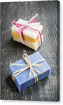 Canvas Print featuring the photograph Handmade Soaps by Elena Elisseeva