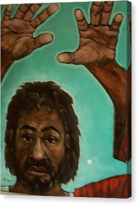 Hands That Heals Canvas Print by Derek Polite
