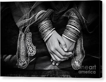 Hands  Canvas Print by Tim Gainey