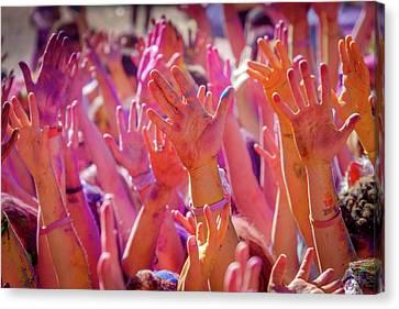 Canvas Print - Hands Up by Okan YILMAZ