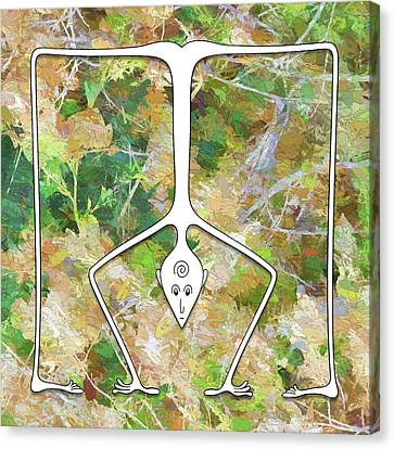 Handstand Canvas Print
