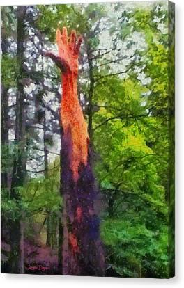 Handtree - Da Canvas Print